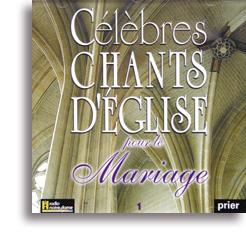 c l bres chants d 39 eglise pour le mariage volume 1 edition du parvis librairie religieuse. Black Bedroom Furniture Sets. Home Design Ideas