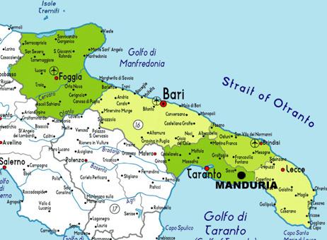 Comment se rendre à Manduria | Edition du Parvis   Librairie